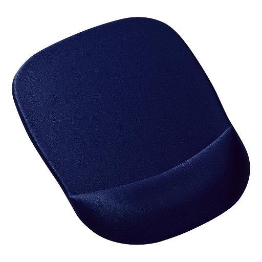 サンワサプライ 低反発リストレスト付きマウスパッド(ブルー )