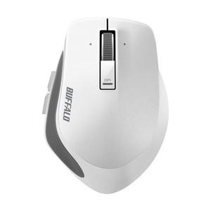 バッファロー Bluetooth3.0 BlueLEDプレミアムフィットマウス Mサイズ ホワイト BSMBB500MWH