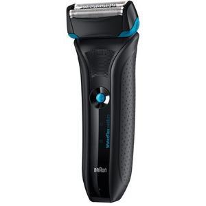 ブラウン WaterFlex メンズシェーバー お風呂剃り可 ブラック WF2s 3枚刃