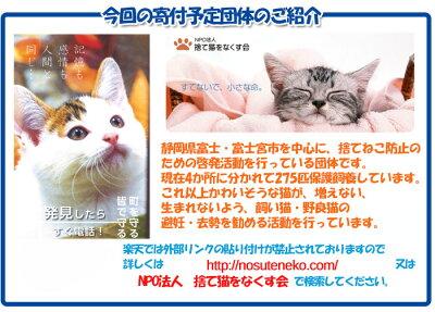 命をつなごう!保護犬保護猫プロジェクト楽天ポイント犬猫ギフト深切物資18回目の発送募集になります捨て猫をなくす会ポイント消化