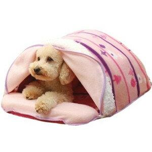 ●【訳あり】ペットグッズ ドギーマンハヤシ電気のいらない暖か、からだ保温ぶとん さんぽみちM犬猫用ベッド【いぬ、犬、イヌ】【ねこ、猫、ネコ】【ドームベッド】