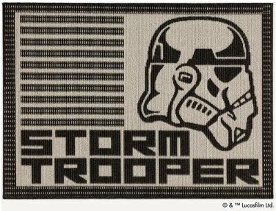 ◆STARWARS【スミノエ】ラグストームトルーパーRUG134-63284約90cm×130cm日本製防ダニ加工耐熱加工