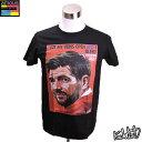 【ポップアートデザインTシャツ 送料無料!!】Steven Gerrard (Liverpool) スティーヴン・ジェラード3 可愛くてお洒落なデザインのインポートTシャツ【サッカー・スター グッズ・雑貨】