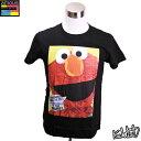 【ポップアートデザインTシャツ 送料無料!!】Elmo エルモ 可愛くてお洒落なデザインのインポートTシャツ【キャラクター・スター グッズ・雑貨】