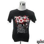 バンドTシャツ againstMy Chemical Romance マイ・ケミカル・ロマンス 音楽 プリントTシャツ グッズ ロック ポスト・パンク 洋楽 Tシャツ メンズ レディース サイズM&L