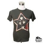 デザインTシャツ BUNNY RABBIT ビートルズ With The Beatles バンドTシャツ ビンテージ風 プリントTシャツ グッズ 1960年代 ロック レジェンド フェス 音楽 ロックT Tシャツ メンズ レディース サイズM&L
