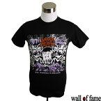 バンドTシャツ Wall of fame Napalm Death ナパーム・デス 音楽 プリントTシャツ グラインドコア ロックTシャツ フェス ファッション 洋楽 Tシャツ メンズ レディース サイズM&L