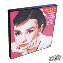 アートパネル Audrey Hepburn2 オードリー・ヘプバーン2 ポップアートパネル ポスター 壁掛け オシャレ インテリア グッズ 雑貨