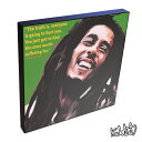 Bob Marley ボブ・マーリー2 KEETATAT SITTHIKET キータタット・シティケット ポップアート アートパネル アートフレーム 絵 イラスト グラフィック 壁掛け おしゃれ インテリア レゲエ 音楽 偉人 レジェンド ラスタファリ