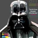 【ポイント2倍☆】Darth Vader ダース・ベーダー インテリアアートパネル [スターウォーズ STARWARS] お洒落にお部屋を彩るウォールアートパネル【映画・キャラクター・スター グッズ・雑貨】