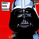 【ポイント2倍☆】Darth Vader3 ダース・ベーダー3 インテリアアートパネル [スターウォーズ STARWARS] お洒落にお部屋を彩るウォールアートパネル【映画・キャラクター・スター グッズ・雑貨】