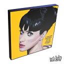 Katy Perry ケイティ・ペリー KEETATAT SITTHIKET インテリア雑貨 おしゃれ ポップアートフレーム ポップアートパネル 絵 イラスト グラフィック 壁掛け 歌手 ポップスター セレブ 音楽