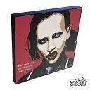 アートパネル Marilyn Manson マリリン・マンソン インテリア アートフレーム ウォールアートパネル 音楽 ミュージック レジェンド スター グッズ 雑貨