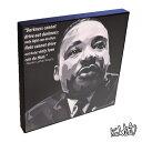 アートパネル Martin Luther King, Jr. マーティン・ルーサー・キング キング牧師 インテリア アフリカ系アメリカ人公民権運動の偉大な指導者 アートパネル偉人 レジェンド アートグッズ 雑貨