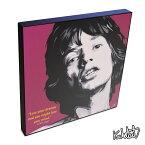 アートパネル Mick Jagger ミック・ジャガー The Rolling Stones ローリング・ストーンズ インテリア ウォールアート 音楽 ミュージック レジェンド スター グッズ おしゃれ イラスト 絵 絵画 ポップアート アートフレーム 雑貨