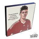 アートパネル Steven Gerrard Liverpool スティーヴン・ジェラード2 リヴァプール サッカー インテリア イングランド・プレミアリーグ アートフレーム アートパネルスポーツ レジェンド スター グッズ 雑貨