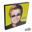 アートパネル Elton John エルトン・ジョン インテリア アートフレーム ウォールアートパネル 音楽 ミュージック レジェンド スター グッズ 雑貨