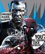 Dead Pool & Colossus デッドプール&コロッサス [Marvel マーベル] インテリアグラフィックボード お洒落にお部屋を彩るウォールアートパネル【映画・キャラクター・スター グッズ・雑貨】
