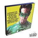 アートパネル Green Lantern グリーン・ランタン ライアン・レイノルズ インテリア DCコミックス アートフレーム ウォールアートパネル 映画 キャラクター スター グッズ 雑貨