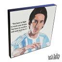 アートパネル Lionel Messi リオネル・メッシ アルゼンチン代表 インテリア アートフレーム ウォールアートパネルスポーツ レジェンド スター グッズ 雑貨