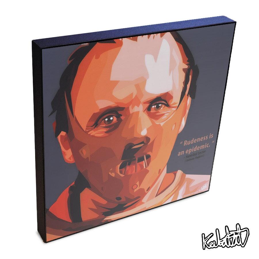 壁紙・装飾フィルム, アートパネル・アートボード Hannibal Lecter KEETATAT SITTHIKET