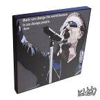 Bono ボノ(U2) KEETATAT SITTHIKET インテリア雑貨 おしゃれ ポップアートフレーム ポップアートパネル 絵 イラスト グラフィック 壁掛け 歌手 ミュージシャン ロック ・バンド レジェンド