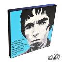 アートパネル Liam Gallagher リアム・ギャラガー OASISオアシス インテリア アートフレーム ウォールアートパネル 音楽 ミュージック レジェンド スター グッズ 雑貨