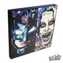 Batman &Joker バットマン&ジョーカー KEETATAT SITTHIKET インテリア雑貨 おしゃれ ポップアートフレーム ポップアートパネル 絵 イラスト グラフィック 壁掛け DCコミック アメコミ 映画 キャラクター ベン・アフレック ジャレット・レト