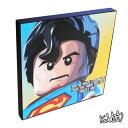 【24時間限定☆20%値下げ中★☆】SuperMan(LEGO) スーパーマン(LEGO レゴ) [レゴ・スーパーマン] お洒落にお部屋を彩るウォールアートパネル【映画・キャラクター・スター グッズ・雑貨】