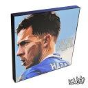 アートパネル Eden Hazard エデン・アザール サッカー・チェルシーFC・ベルギー代表 インテリア アートフレーム ウォールアートパネル スター グッズ 雑貨