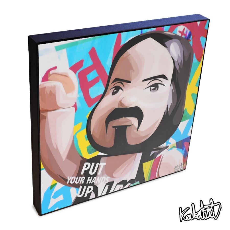 壁紙・装飾フィルム, アートパネル・アートボード  BEARBRICK Steve Aoki DJ EDM
