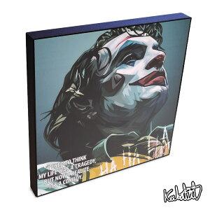 アートパネル インテリア Joker(Joaquin Phoenix)2 ジョーカー(ホアキン・フェニックス)2 DCコミック アメコミ 映画 ポスター 壁掛け オシャレ インテリア グッズ おしゃれ イラスト 絵 絵画 ポップアート アートフレーム 雑貨