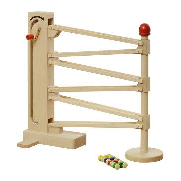 [1年保証]コイデ KOIDE 日本製 おもちゃ 玩具 クルリンエレベーター M67 車 ミニカー スロープ 知育 室内 1歳 2歳 男の子 女の子 子供 幼児 ベビー 知育玩具 出産祝い 誕生日 ウッド 天然木 国産[送料無料]