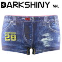 DARK SHINY(ダークシャイニー)レディースボクサーブリーフ - Emblem jeans【代引料無料】
