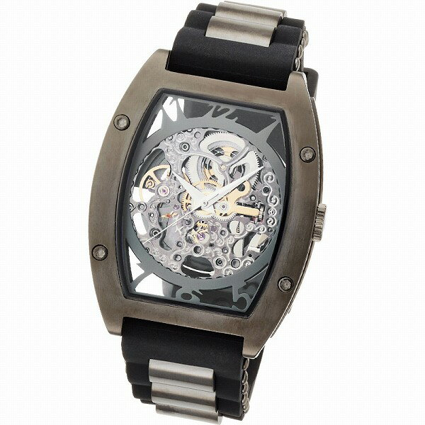 取寄品 正規品ARCA FUTURA自動巻き腕時計 アルカフトゥーラ 978G Mechanical Skeleton メンズ腕時計 auktn