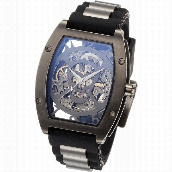取寄品 正規品ARCA FUTURA自動巻き腕時計 アルカフトゥーラ 978H Mechanical Skeleton メンズ腕時計 auktn