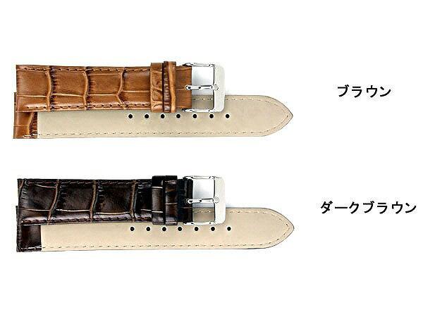 替えベルト/カーフ時計バンド 本革腕時計用ベルト 交換用レザーベルト[20mm・22mm] メンズ腕時計 auktn