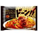 【20%OFF】[冷凍食品]日本製粉 魅惑のプレートトルコライス 420g | ごはん ご飯 ピラフ とんかつ トンカツ 豚カツ ナポリタン デミグラスソース デミソース トルコ ライス おかず セット ワンプレート ワントレー 弁当