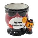 ハロウィン ホワイトストーン デザートカップ ミニコップ Happy Halloween パンプキン ゴシックゴブ お菓子 食器 パーティー用品グッズ通販