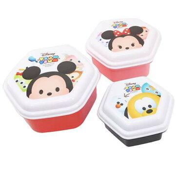 ディズニー ツムツム《お弁当箱/ランチボックス》タッパー◎保存容器3Pセット☆DISNEY TSUM TSUM(キャラクターグッズ/キッチン雑貨)通販