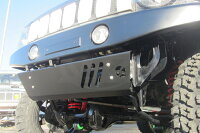 JB23用フロントスキッドガードVer2高張力鋼板製