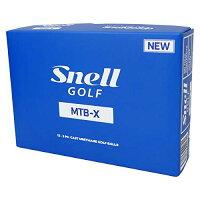 スネルゴルフ(Snell Golf) ゴルフボール MTB-X ゴルフボール 1ダース(12球入) ホワイト