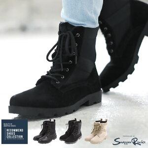 ◆ミリタリーブーツ◆ブーツ メンズ ワークブーツ フェイクスウェード 編み上げ シューズ 靴2012−ACC