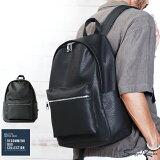 ◆スクエアリュック◆バッグ メンズ リュックサック デイパック バックパック カバン PUレザー カジュアル メンズファッション