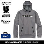 BURTONバートンフーディーMBCROWNBONDEDPULLOVERHOODIEMonumentHeather【服】10891101061MENS