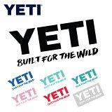 【エントリーでP10倍 8月9日1:59まで】YETI イエティ Window Decals ウィンドウデカール 【ステッカー/シール/アウトドア】【メール便発送350円・代引不可】