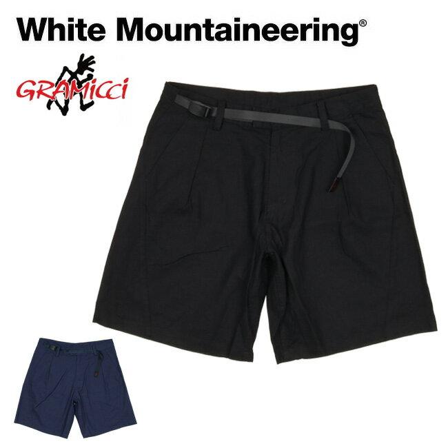 メンズファッション, ズボン・パンツ White Mountaineering WMGRAMICCI DARTED SHORT PANTS WM2171411