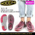 【超特価!53%OFF!】キーン KEEN サンダル ユニーク スライス フェード UNEEK SLICE FADE Magnet/Camellia Rose/1014629/レディース