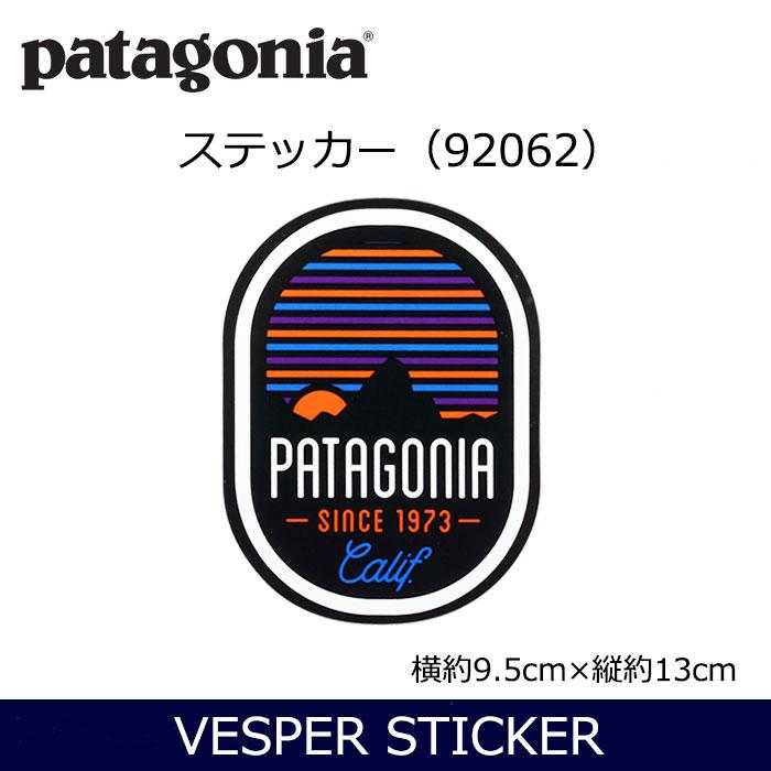 パタゴニア VESPER STICKER