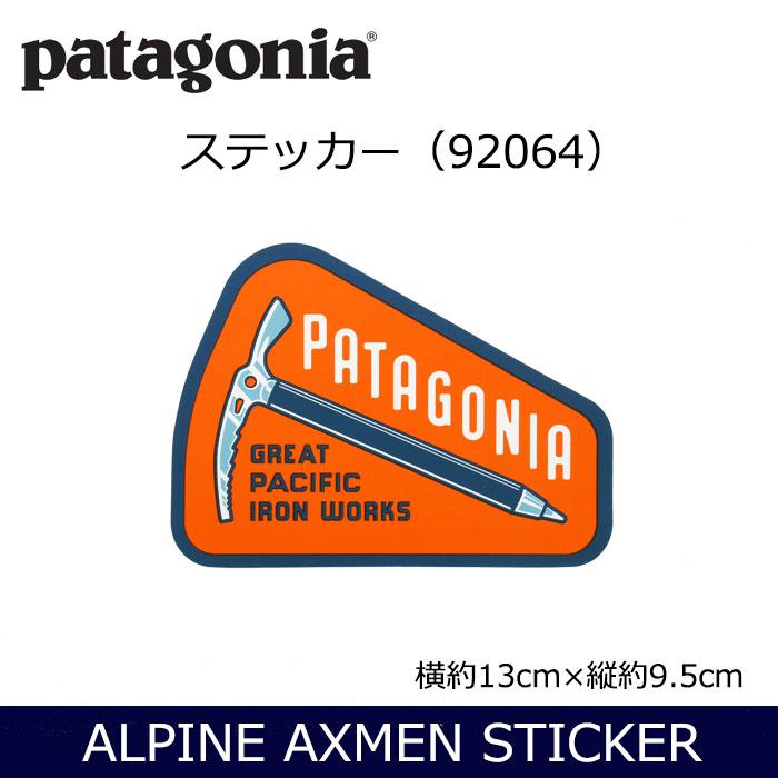 パタゴニア Alpine Axmen Sticker
